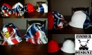 Eagle flag hard hat