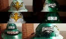 custom Philadelphia eagles hard hat